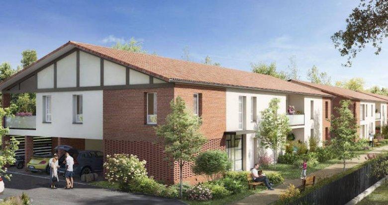 Achat / Vente immobilier neuf Saint-Alban coeur de ville (31140) - Réf. 4187