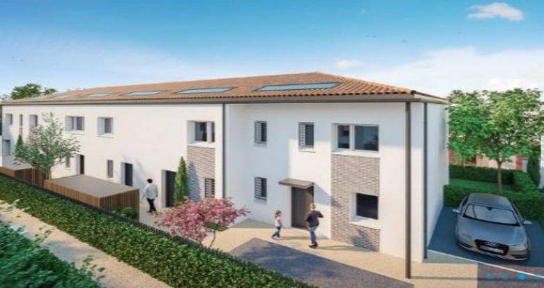 Achat / Vente immobilier neuf Saint-Jean proche écoles (31240) - Réf. 4569