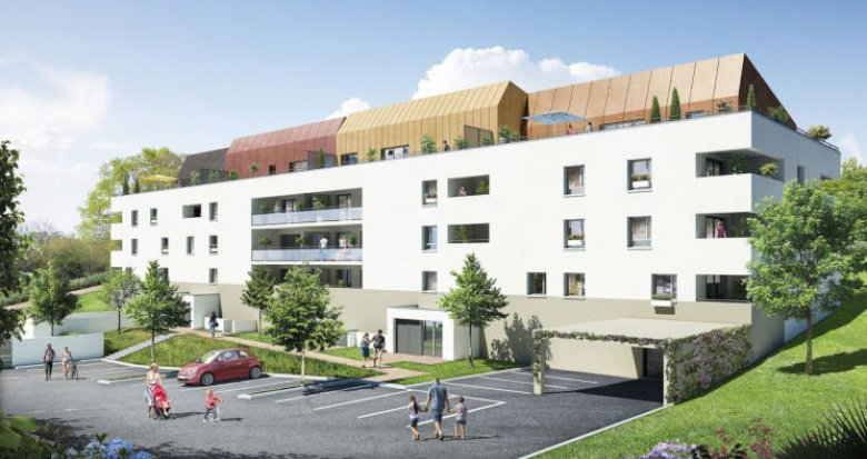 Achat / Vente immobilier neuf Saint-Orens-de-Gameville à 700 m de la mairie (31650) - Réf. 3144