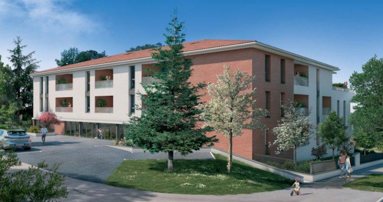 Achat / Vente immobilier neuf Saint-Orens-de-Gameville centre (31650) - Réf. 5591