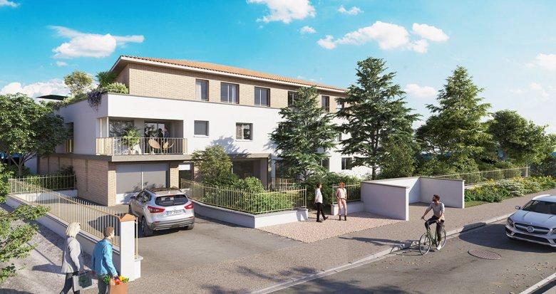 Achat / Vente immobilier neuf Saint-Orens-de-Gameville proche bus (31650) - Réf. 6116