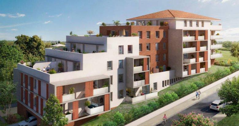 Achat / Vente immobilier neuf Saint-Orens-de-Gameville proche centre (31650) - Réf. 5334