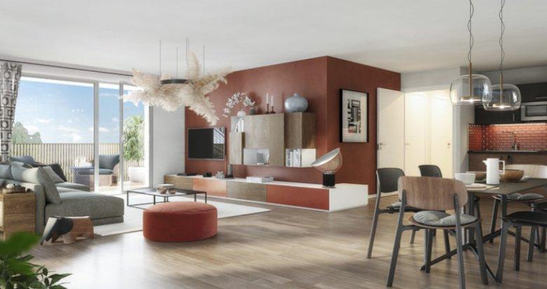 Achat / Vente immobilier neuf Toulouse à 300 m du métro Barrière de Paris (31000) - Réf. 5454