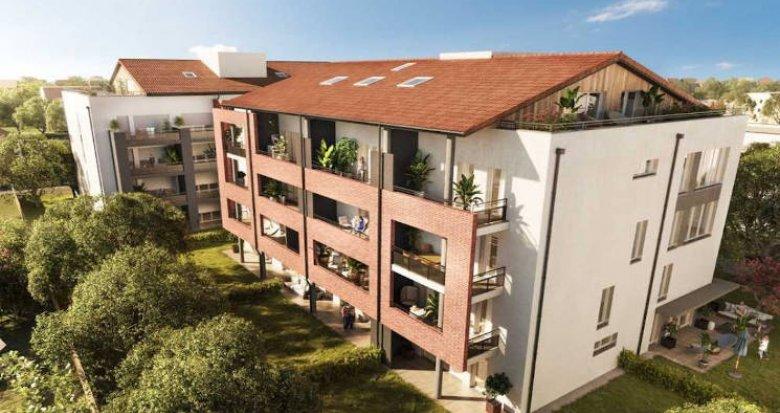 Achat / Vente immobilier neuf Toulouse à 800 mètres du métro (31000) - Réf. 4816