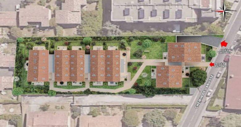 Achat / Vente immobilier neuf Toulouse à 800 mètres du métro (31000) - Réf. 4637