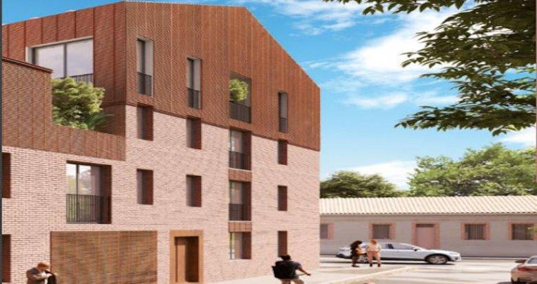 Achat / Vente immobilier neuf Toulouse à deux pas du métro et des commerces (31000) - Réf. 4779
