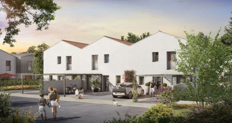 Achat / Vente immobilier neuf Toulouse au coeur de Saint-Simon (31000) - Réf. 5353