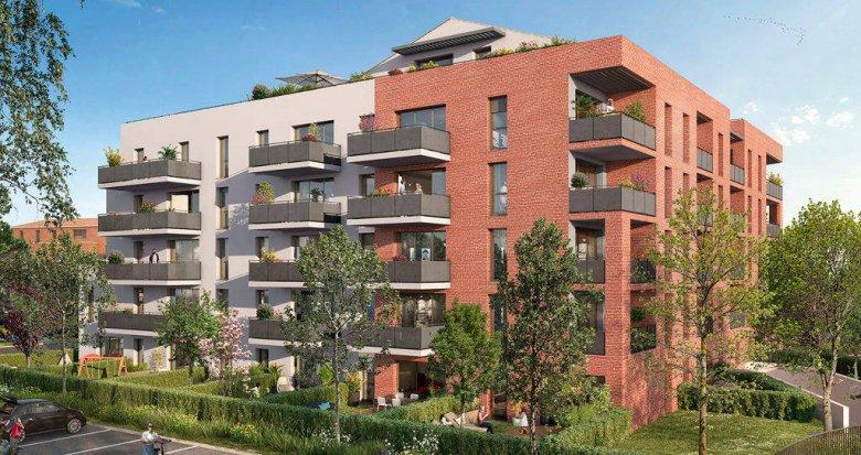 Achat / Vente immobilier neuf Toulouse au cœur du quartier Borderouge (31000) - Réf. 6272