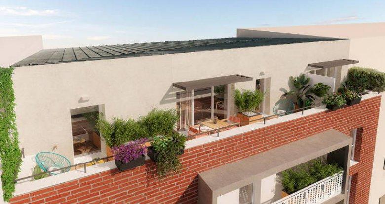 Achat / Vente immobilier neuf Toulouse au cœur du quartier de la Barrière de Paris (31000) - Réf. 5924