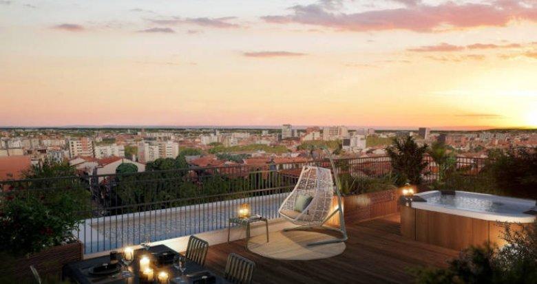 Achat / Vente immobilier neuf Toulouse au coeur du quartier Guilheméry (31000) - Réf. 6159