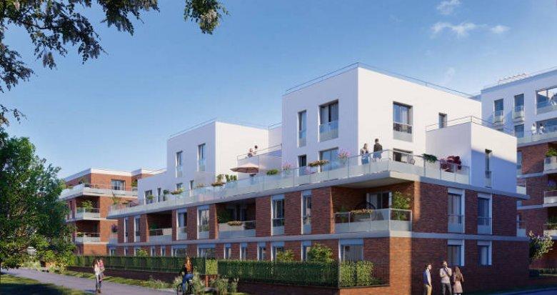 Achat / Vente immobilier neuf Toulouse au cœur du quartier Guillaumet QG (31000) - Réf. 5601