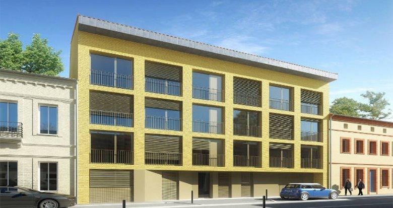 Achat / Vente immobilier neuf Toulouse entre le Jardin des plantes et le canal (31000) - Réf. 5776
