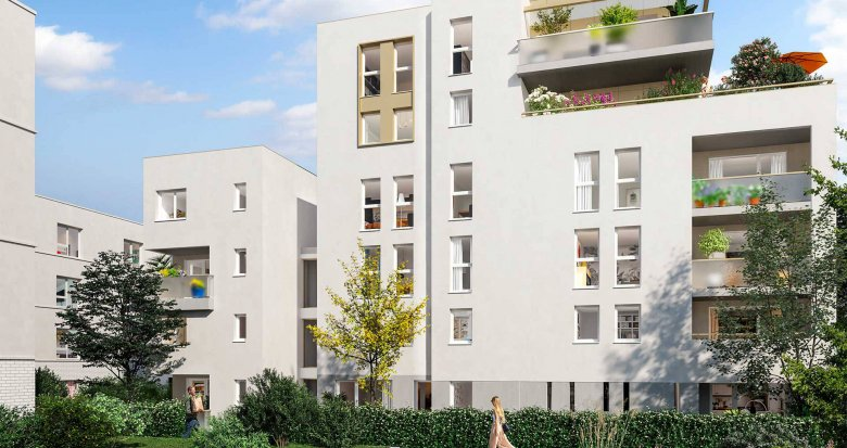 Achat / Vente immobilier neuf Toulouse face au Parc de la Marcaissonne (31000) - Réf. 6233