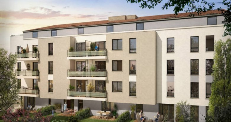 Achat / Vente immobilier neuf Toulouse - Minimes Claude Nougaro (31000) - Réf. 3356