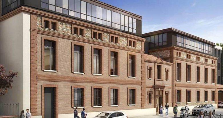 Achat / Vente immobilier neuf Toulouse proche centre-ville (31000) - Réf. 3131