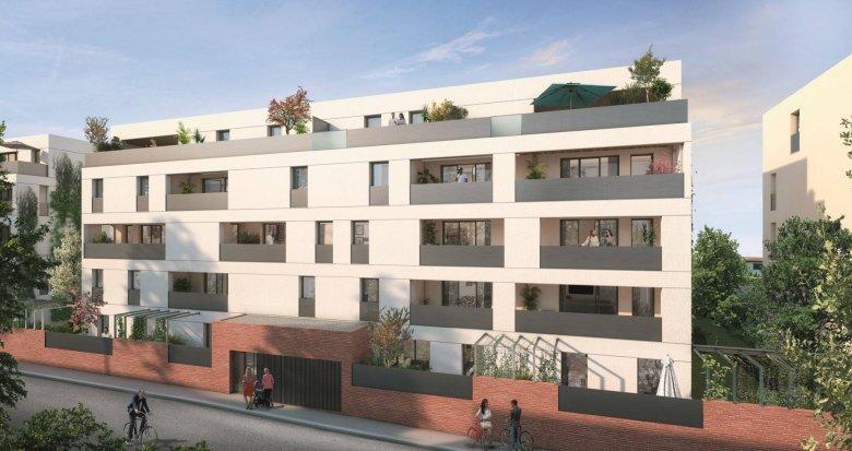Achat / Vente immobilier neuf Toulouse proche de la coulée verte des Amidonniers (31000) - Réf. 6250