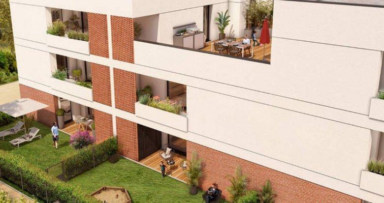 Achat / Vente immobilier neuf Toulouse proche du lac de la Ramée (31000) - Réf. 4765