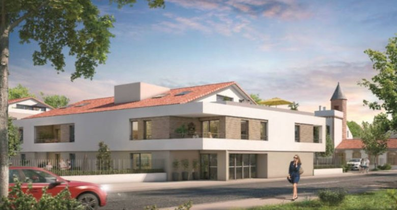 Achat / Vente immobilier neuf Toulouse proche golf de la Ramée (31000) - Réf. 3161