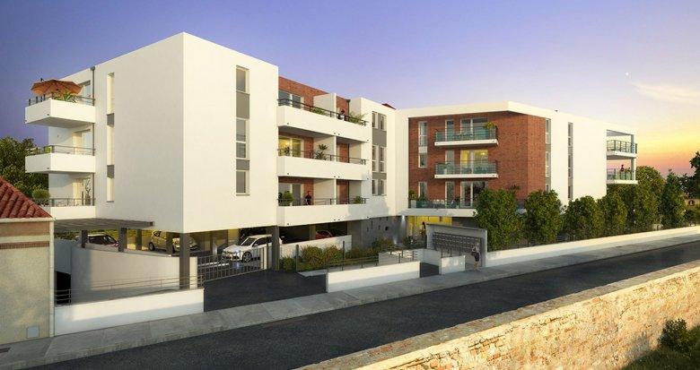 Achat / Vente immobilier neuf Toulouse proche Jardin Niel (31000) - Réf. 3213