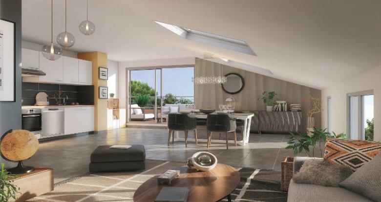 Achat / Vente immobilier neuf Toulouse proche Jardin Public Des Roseaux (31000) - Réf. 5802