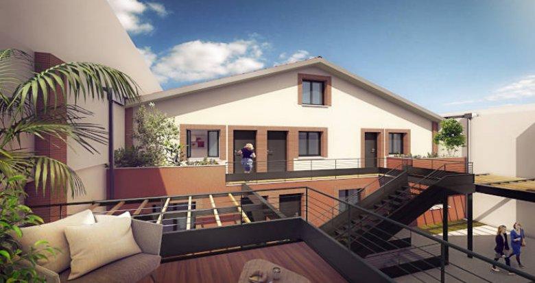 Achat / Vente immobilier neuf Toulouse proche Jeanne d'Arc (31000) - Réf. 5818