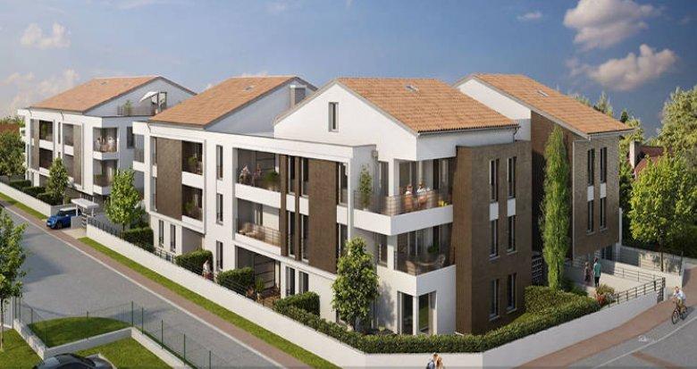 Achat / Vente immobilier neuf Toulouse proche Lac des Sesquières (31000) - Réf. 4683