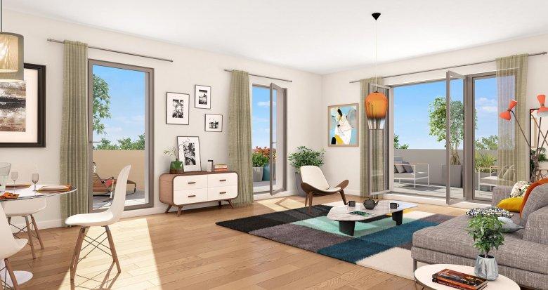 """Achat / Vente immobilier neuf Toulouse proche métro ligne 2 """"Patte d'Oie"""" (31000) - Réf. 3641"""