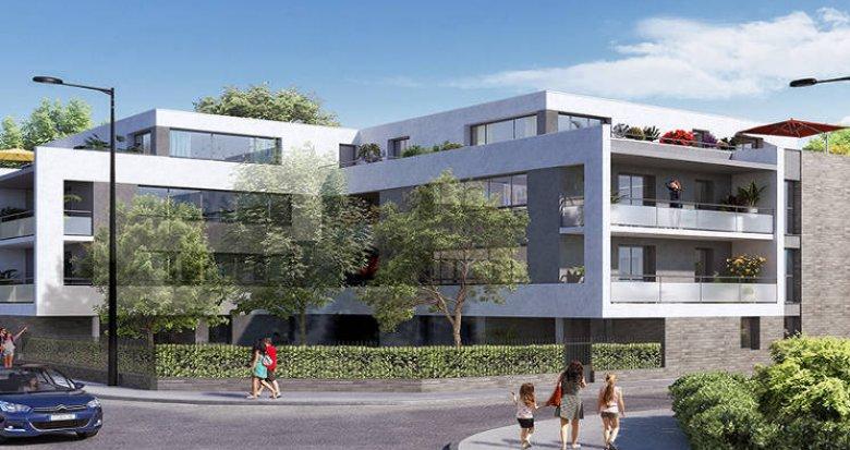 Achat / Vente immobilier neuf Toulouse proche Parc de la Maourine (31000) - Réf. 3142