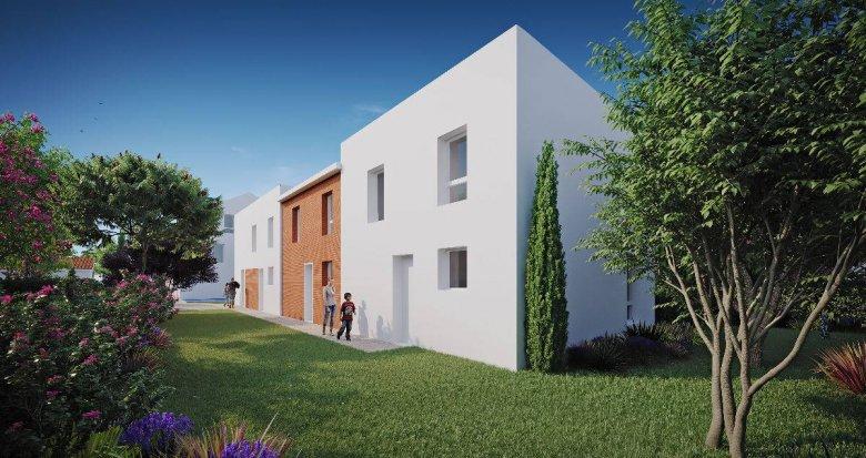 Achat / Vente immobilier neuf Toulouse proche Parc de la Maourine (31000) - Réf. 6242
