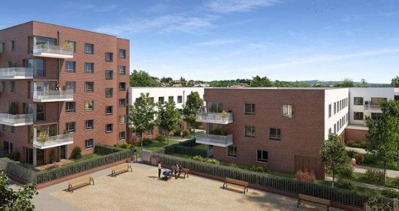 Achat / Vente immobilier neuf Toulouse proche Place de l'Ormeau (31000) - Réf. 4814