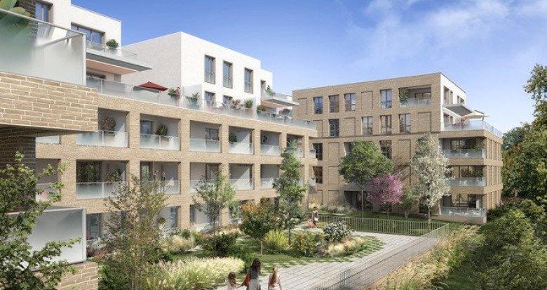 Achat / Vente immobilier neuf Toulouse proche transports à 10 min du centre (31000) - Réf. 5589