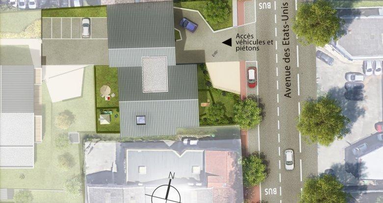 Achat / Vente immobilier neuf Toulouse quartier Barrière de Paris (31000) - Réf. 3471