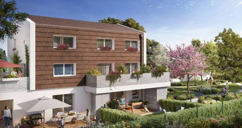 Achat / Vente immobilier neuf Toulouse quartier Bonnefoy (31000) - Réf. 4655