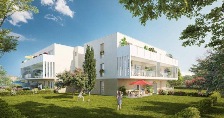 Achat / Vente immobilier neuf Toulouse quartier Croix-Daurade proche écoles (31000) - Réf. 4157