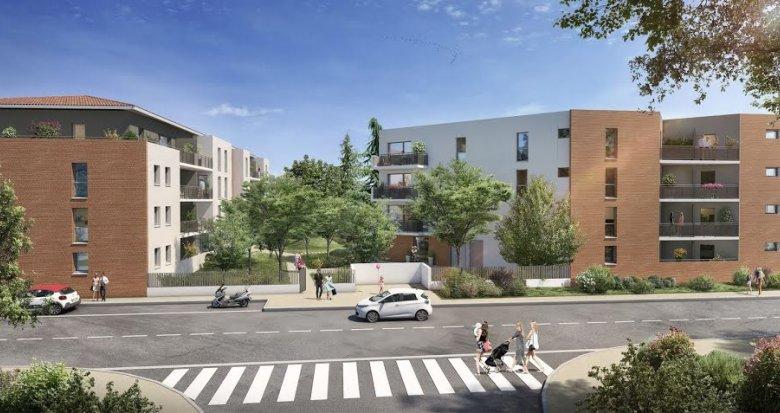 Achat / Vente immobilier neuf Toulouse quartier des Trois-Cocus (31000) - Réf. 5524