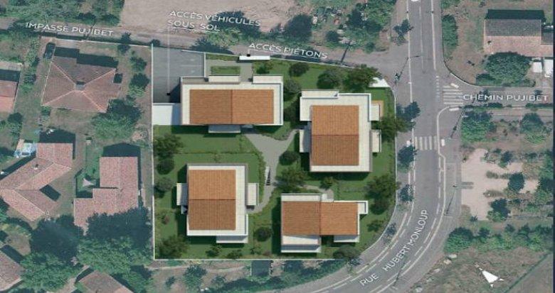 Achat / Vente immobilier neuf Toulouse quartier familial Croix-Daurade (31000) - Réf. 4550