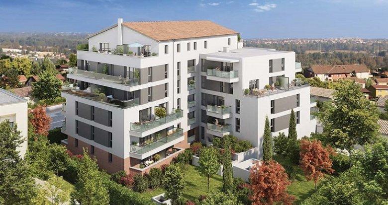 Achat / Vente immobilier neuf Toulouse quartier Lalande (31000) - Réf. 4131