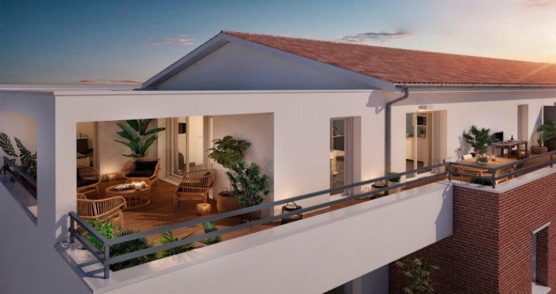Achat / Vente immobilier neuf Toulouse quartier Lalande (31000) - Réf. 5378