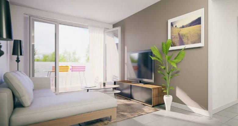Achat / Vente immobilier neuf Toulouse quartier Moulis Croix-Bénite (31000) - Réf. 3535