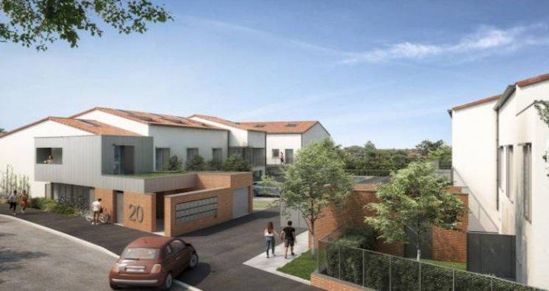 Achat / Vente immobilier neuf Toulouse quartier pavillonnaire Borderouge (31000) - Réf. 4651