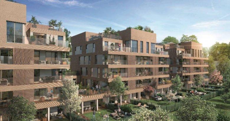 Achat / Vente immobilier neuf Toulouse quartier Saint-Cyprien - Patte D'Oie (31000) - Réf. 4377