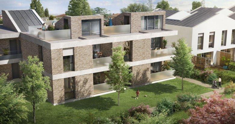 Achat / Vente immobilier neuf Toulouse quartier Saint Simon (31000) - Réf. 3664