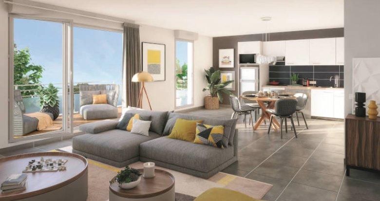 Achat / Vente immobilier neuf Toulouse quartier Saint-Simon à 500m du bus 53 (31000) - Réf. 5640
