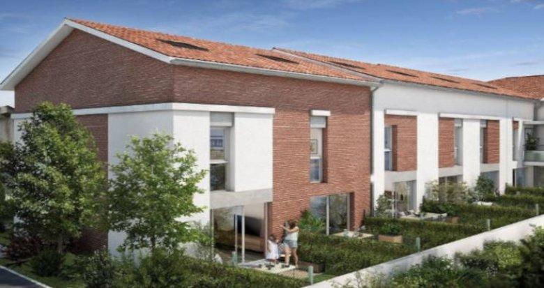 Achat / Vente immobilier neuf Toulouse quartier Saint-Simon proche mairie (31000) - Réf. 3160