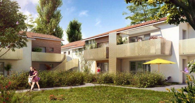 Achat / Vente immobilier neuf Toulouse quartier Saint-Simon proche transports (31000) - Réf. 3766