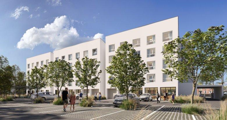 Achat / Vente immobilier neuf Toulouse résidence étudiante proche gare (31000) - Réf. 6150
