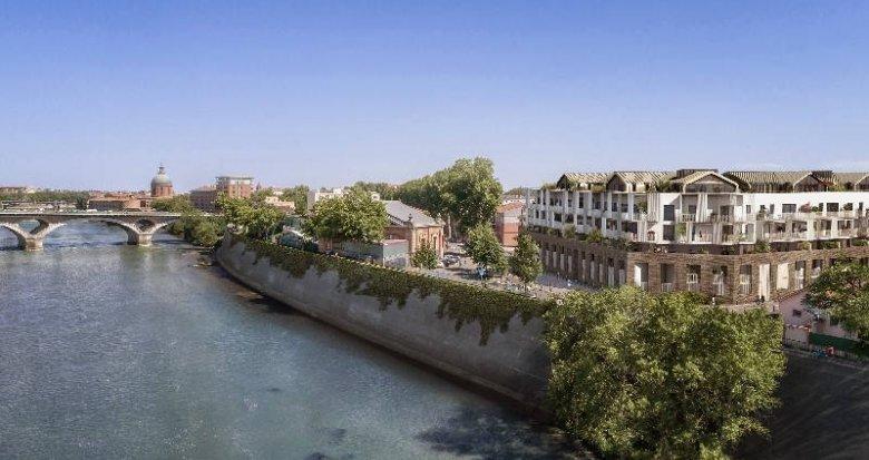 Achat / Vente immobilier neuf Toulouse Saint-Cyprien proche de la Garonne (31000) - Réf. 6068