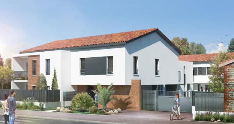 Achat / Vente immobilier neuf Toulouse secteur Croix-Bénite proche bus (31000) - Réf. 4770