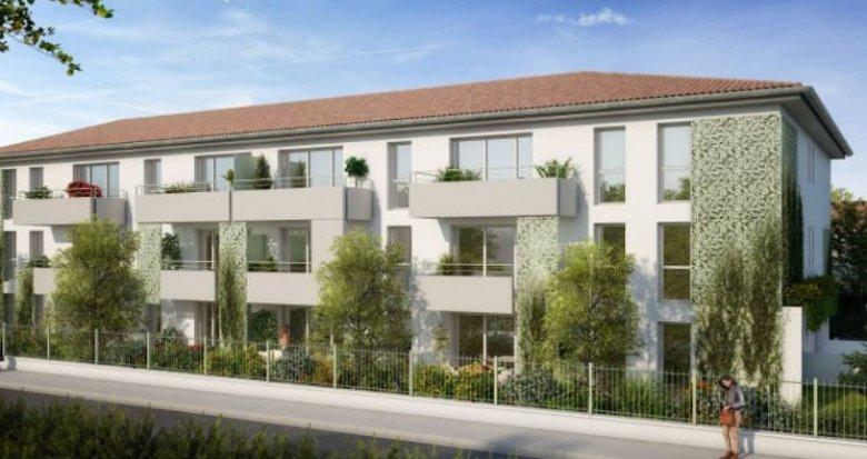 Achat / Vente immobilier neuf Toulouse secteur des Argoulets (31000) - Réf. 4865