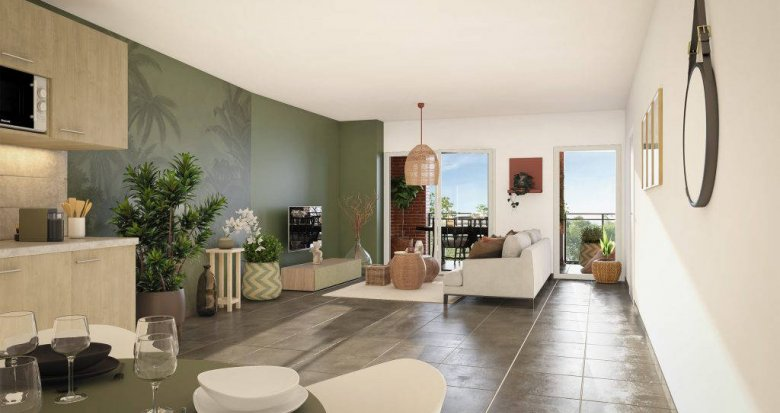 Achat / Vente immobilier neuf Toulouse secteur Ponts Jumeaux (31000) - Réf. 6297